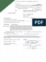 Walker William Revocation Order