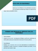 EL SERVICIO CIVIL EN GUATEMALA