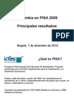 Presentacion resultados PISA 2009 diciembre 7 (1)