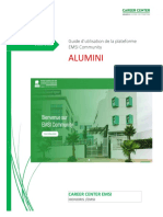 Guide Alumni pour la plateforme EMSI community-converted