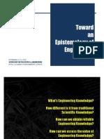 Figueiredo (2008) Epistemology Engineering