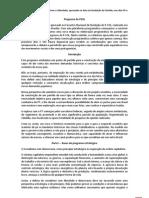 Programa Partidário do PSOL
