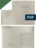 Introduccion de Gustave Thibon a La gravedad y la gracia de Simone Weil