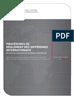 International_Dispute_Resolution_Procedures_French