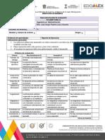 Guía estructurada Examen con ejercicios