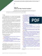 ASTM C533-17 (Aislamiento térmico)