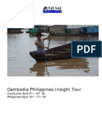 Cambodia Philippines Insight Tour - Tearfund New Zealand