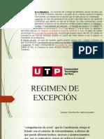 regimenes de excepción