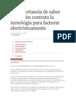 La importancia de saber con quién contrata la tecnología para facturar electrónicamente.docx