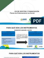 SANDRA ALZATE presentacion instrumentos de gestión