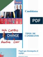 Candidatos exposicion