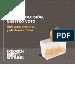 GUIA PARA ELECTORES CRÍTICOS