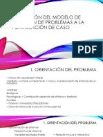 Modelo de solución de problemas a formulación de caso