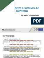 Introduccion a a Gerencia de proyectos (1)