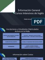 Información General  Cursos Intensivos de Inglés.pptx