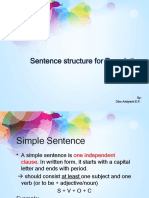 Grammar and Structure in Academic  Writing overview