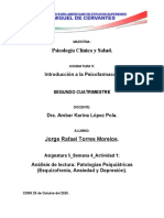 Analisis_Patologías Psiquiatricas