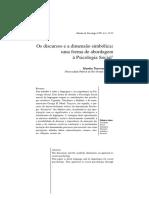 Os discursos e a dimensão simbólica - uma forma de abordagem à Psicologia Social.pdf
