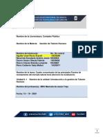 FUENTES DE RECLUTAMIENTO DEL MERCADO LABORAL