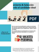 En búsqueda del candidato ideal R&S