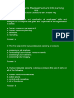 MCQs Unit 1 Human Resource Management and Planning (1).pdf