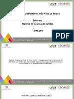 TALLER DEL SGC. NORMA ISO 2015