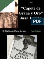 """Juan Legido """"Capote de Grana y Oro"""" pasodoble en Homenaje a Manolete"""