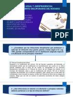 Análisis Legal y Jurisprudencial Del Procedimiento Disciplinario Del Notario.ppt