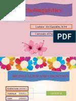 Presentation Psycholinguistic