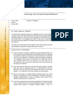IDC White Paper on Risks of Pirated Software