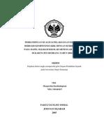 Perbandingan kualitas pelaksanaan kurikulum berbasis kompetensi (KBK) dengan kurikulum 1994 pada mata pelajaran Sejarah Sekolah Menengah Atas