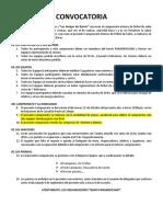 CONVOCATORIA-futsal PANAMERICANO