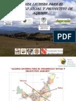 """Avances del proyecto """"Alianza Lechera para el Desarrollo Social y Productivo de AGRONIT"""""""