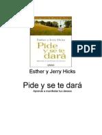 Pide y se te dara - Hicks Esther y Jerry