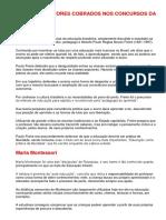 PRINCIPAIS AUTORES COBRADOS NOS CONCURSOS DAS EDUCAÇÃO ok