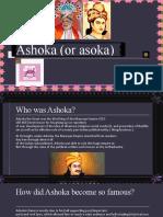 ashoka or asoka