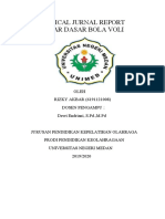 CRITICAL JURNAL REPORT bola voli