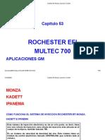 Capítulo 53 Monza, Ipanema, Kadett