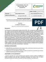 Plan de Periodo I Matematicas 8 2020 . 2021 Urbano RH+