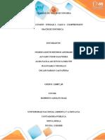 Foro de discusión - Unidad 1 - Caso 2 - Comprensión macroeconómica