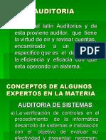 AUDITORIA DE SISTEMAS (clases)