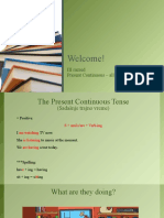 Unit 7-8, Present Continuous - all forms