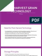 1c - Post-Harvest Grain Technology