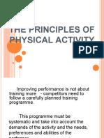 PRINCIPLE OF TRAINING