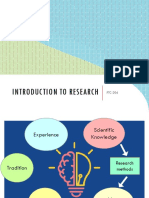 1a - Introduction to Research