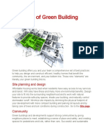Elements of Green Building Design