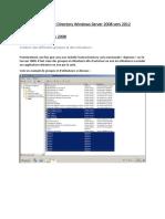 Migration de l'Active Directory Windows Server 2008 vers 2012
