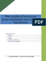 Mise en place d'un serveur proxy mandataire avec Squid et Squidguard