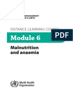 WHO-Malnutrition and Anemia Module