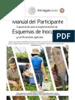 Manual esquemas de inocuidad certificación agricola